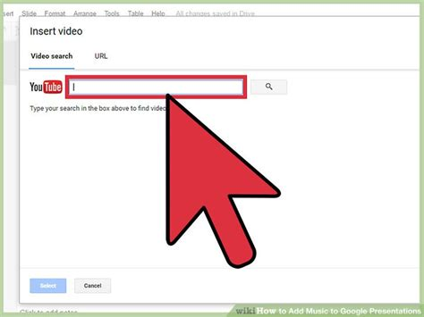 How To Add Music To Google Presentations (with Pictures