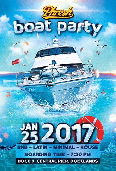 On A Boat Party by Tickets For Phresh Boat Party In Docklands From Ticketbooth