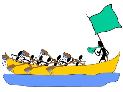 Dragon Boat Racing Vs Rowing by Rowing Race Clipart Clipground