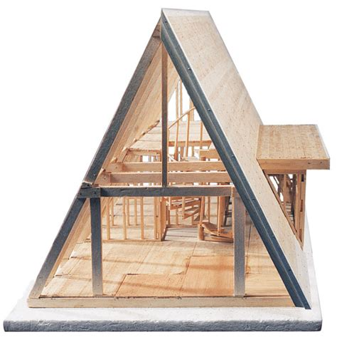 a frame cabin plans midwest products a frame cabin kit blick materials