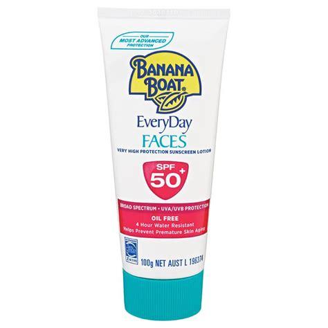 Banana Boat Sunscreen Online by Buy Banana Boat Spf 50 Faces 100g Online At Chemist