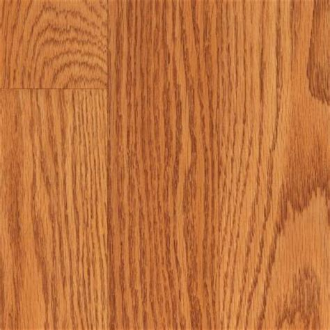 trafficmaster glenwood oak 7 mm thick x 7 3 4 in wide x 50 5 8 in length laminate flooring 24