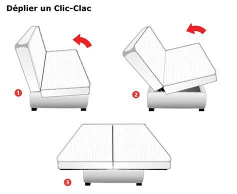 matelas clic clac dimensions et prix ooreka
