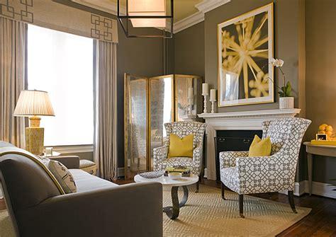 Home Decor Yellow And Gray : Yellow And Gray Living Room