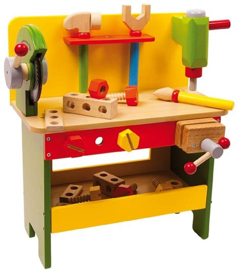 Children's Power Tools Wooden Workbench