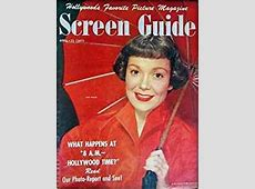 SCREEN GUIDE April 1950 with Jane Wyman on the cover