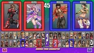 TTT2 select screen Yamashita style by MrJechgo on DeviantArt