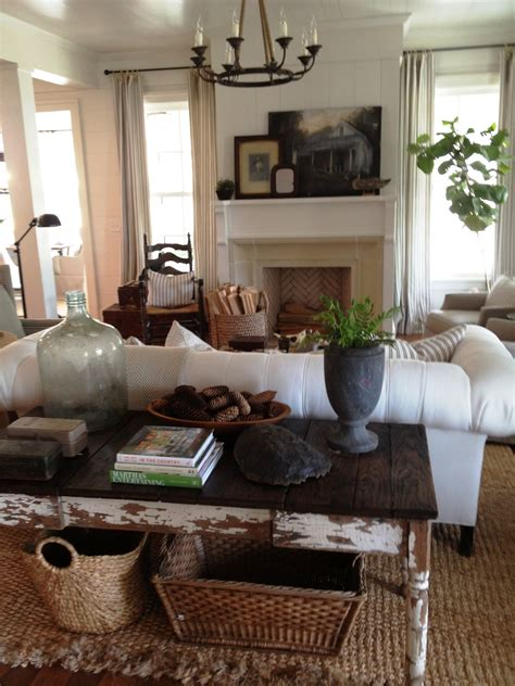 2012 southern living idea house through our living room tracery interiors