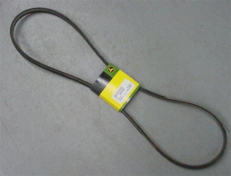 deere genuine oem m88184 primary mower belt 38 quot stx38 yellow deck 111 112l ebay