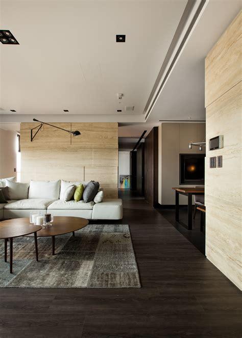 Modern Asian Interior With Natural Materials Interior