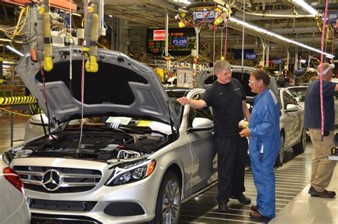 Mercedes-benz Starts C-class Production At Alabama Plant