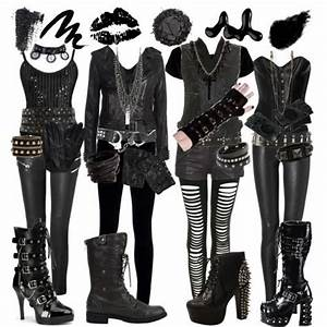 Try out this Black Veil Brides costume with your friends ...