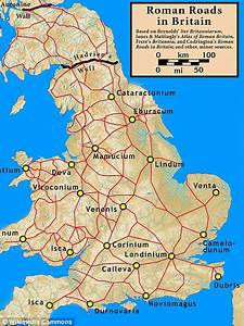 Britain's network of Roman roads reinvented in subway map ...