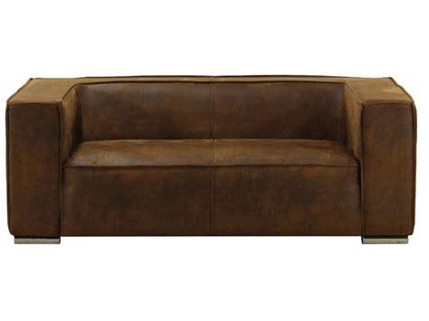 canap 233 fixe 3 places en tissu dallas coloris marron vente de canap 233 relax conforama