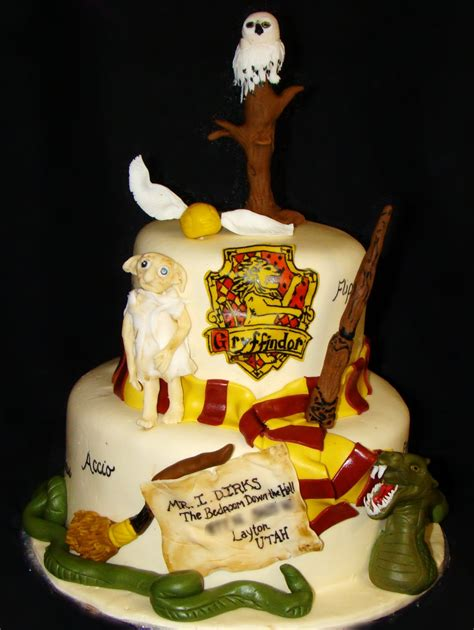 harry potter cake layers of harry potter cake