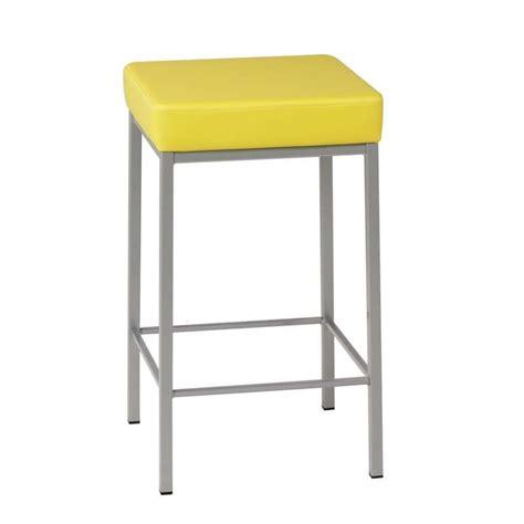 tabouret snack de cuisine en m 233 tal sans dossier quadra 4 pieds tables chaises et tabourets