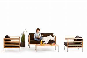 Gartenmöbel Rattan Holz : holz lounge gartenm bel park ~ Markanthonyermac.com Haus und Dekorationen