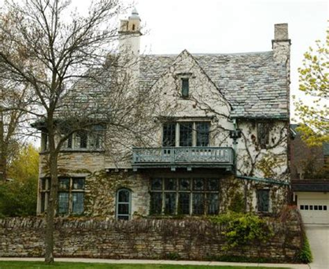 1927 goodrich revival cottage william a william f luick house a cotswold cottage style tudor
