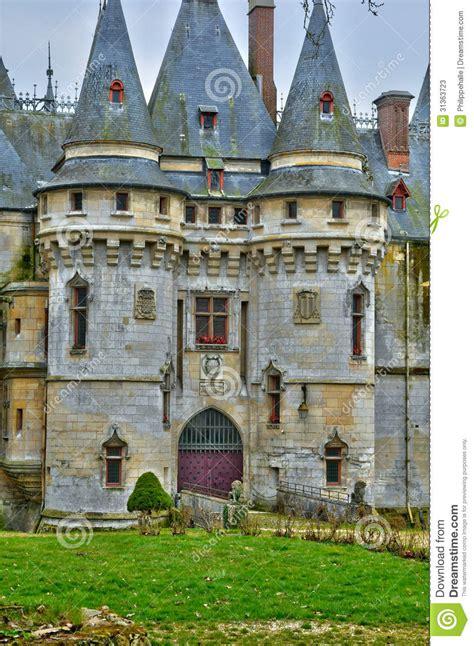 la francia il di vigny in val d oise immagine stock immagine 31363723
