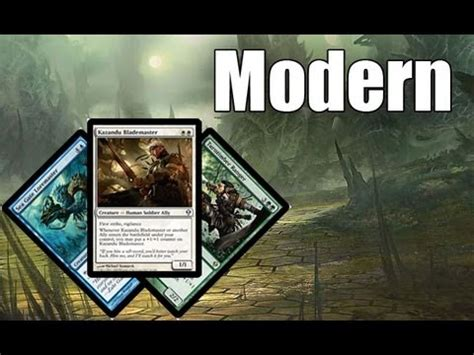mtg modern deck tech bant allies