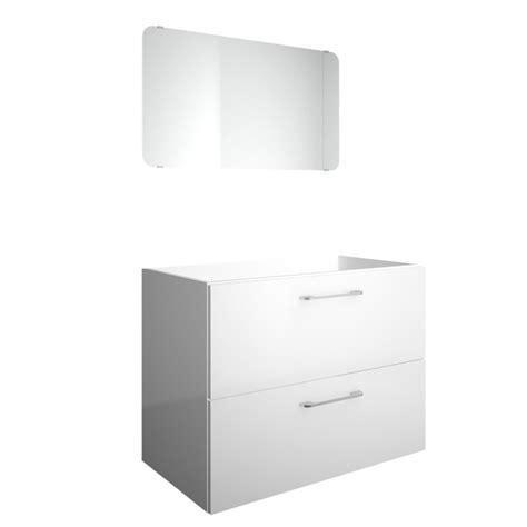 meuble sous vasque l 79 x h 60 x p 44 5 cm blanc happy leroy merlin