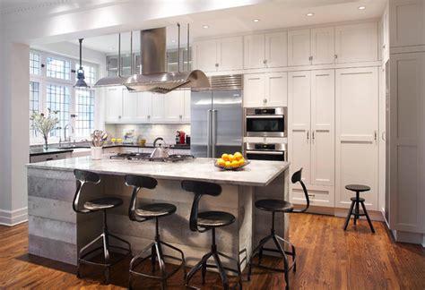 decorer cuisine toute blanche maison design bahbe