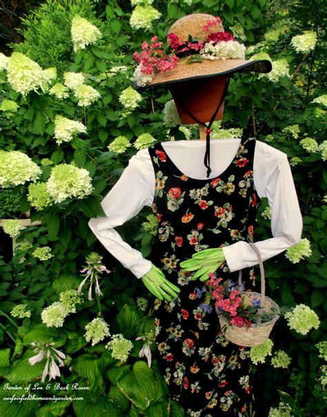 Diy Scarecrow For Garden diy project wood scrap scarecrow my garden maiden our