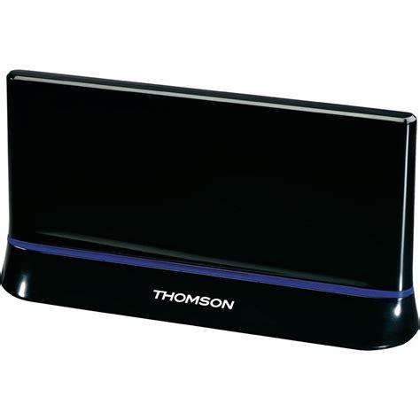 antenne plate dvb t t2 passive thomson ant1403 pour l int 233 rieur 43 db noir vente antenne plate