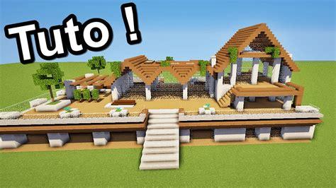 minecraft tuto grande maison moderne