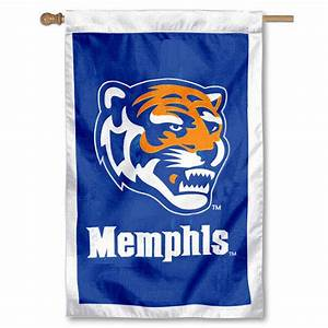 University of Memphis Embroidered Flag your University of ...