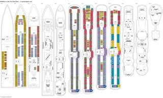 brilliance of the seas deck plans cabin diagrams pictures