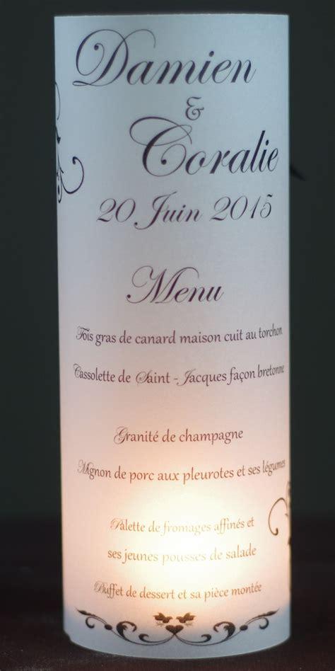 menu photophore artdcostyle d 233 corations de mariage location housse de chaise mariage