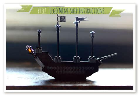Lego Mini Boat Instructions by Lego Ship Instructions Gwen S Nest