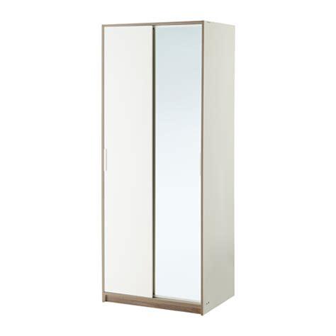 Leisure Sinks And Taps by Trysil Wardrobe White Mirror Glass 79x61x202 Cm Ikea