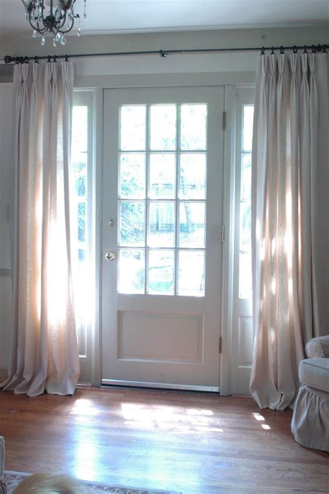 25 best ideas about sidelight curtains on