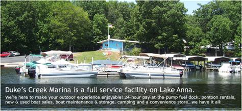 Lake Anna Marina Boat Rentals by Duke S Creek Marina Lake Anna Va