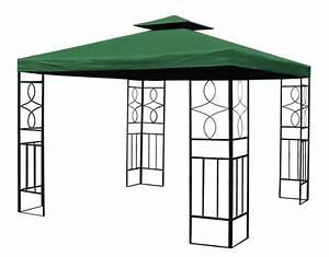 Dach Für Gartenpavillon : pavillon romantika metall inkl dach wasserfest wasserdicht partyzelt festzelt ebay ~ Markanthonyermac.com Haus und Dekorationen