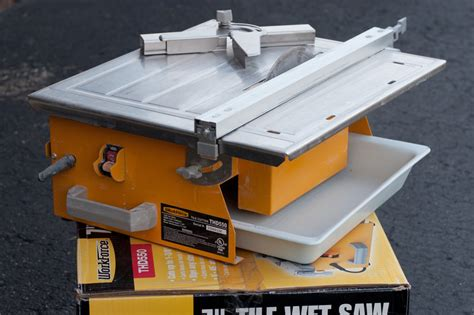 workforce thd550 saw for cutting tile