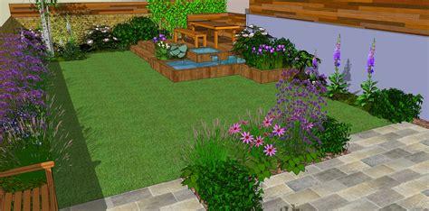 Ideas As Well Low Maintenance Garden Landscaping Also