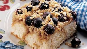 Country Blueberry Coffee Cake recipe from Pillsbury.com