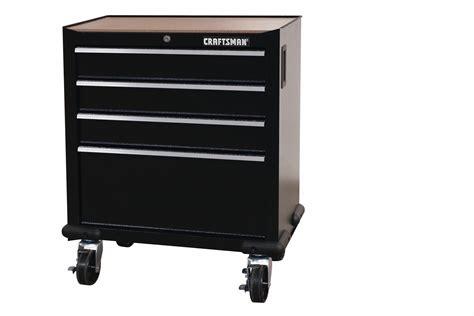 craftsman 28 quot 4 drawer garage storage cabinet black