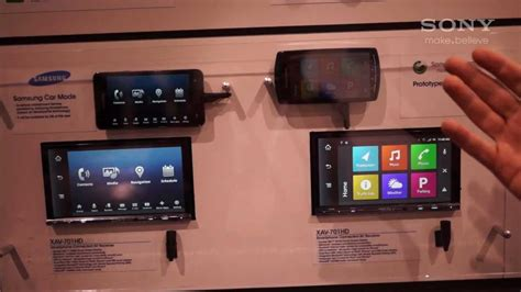 Sony Xplod Deck Demo Mode by Sony Ces 2012 Sony Xplod Mirrorlink Demo