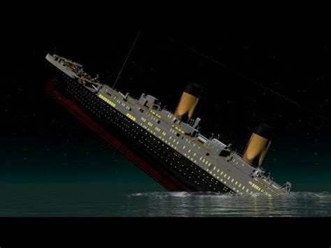 rms lusitania 3d sinking animation doovi