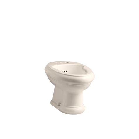kohler revival elongated bidet with 3 faucet holes in blush k 4832 55 the home depot