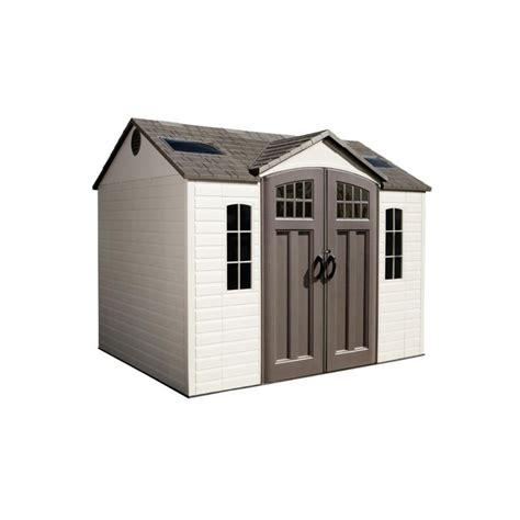 lifetime 10 x 8 garden storage shed 60095