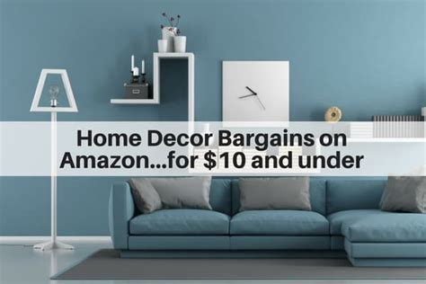 Home Decor On Amazon : Home Decor Bargains On Amazon For $10 Or Less