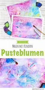 Malen Mit Kindern : malen mit kindern wunderbare pusteblumen mit wasserfarben malen malen mit kindern pusteblume ~ Markanthonyermac.com Haus und Dekorationen