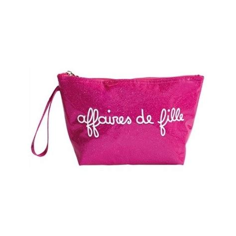 trousse de toilette fille pochette affaires de fille glitter trousse de maquillage girly ado
