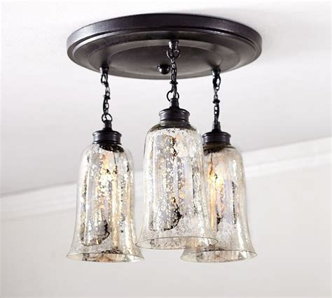 brantley antique mercury glass semi flushmount contemporary flush mount ceiling lighting