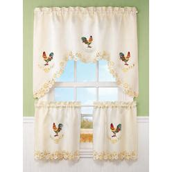 rooster chicken curtains from sears